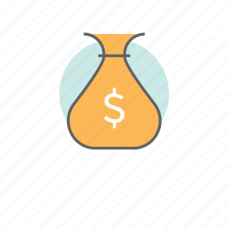bag, bank, billing, cash, finance, investment, money icon