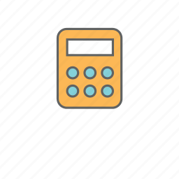 calc, calculation, calculator, count, finance, math icon