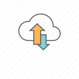 depository, hosting, network, repository, saas, storage icon