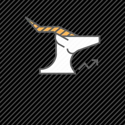 animal, deer, doe, gazelle, hind, springbok icon