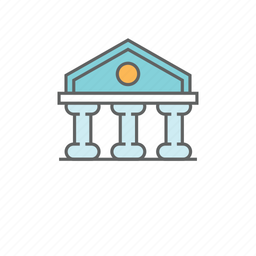 bank, building, business, economy, investment, money, savings icon