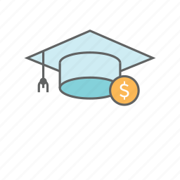 banking, college savings, education, finance, financial, money, savings icon
