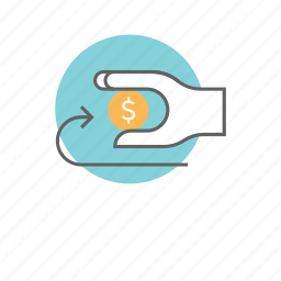cash, coin, e-commerce, economy, finance, money, savings icon