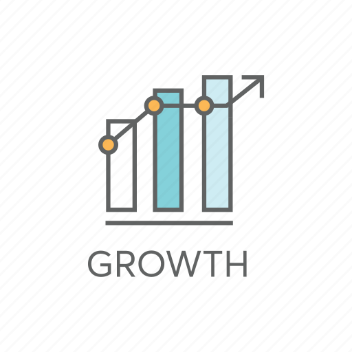 analytics, gain, graph, growth, increase, profit, statistics icon