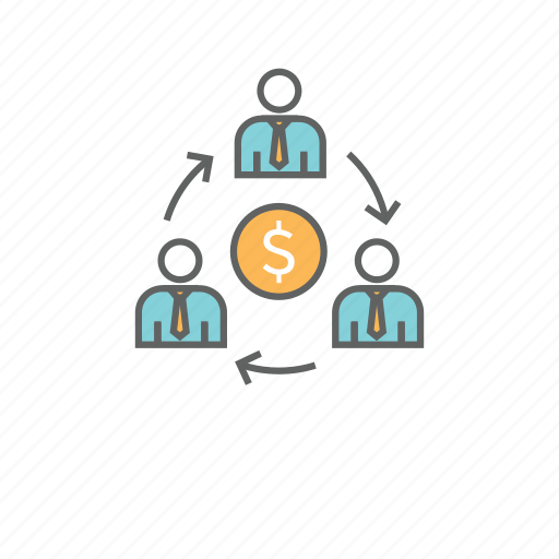 business, commerce, connection, economy, sharing icon