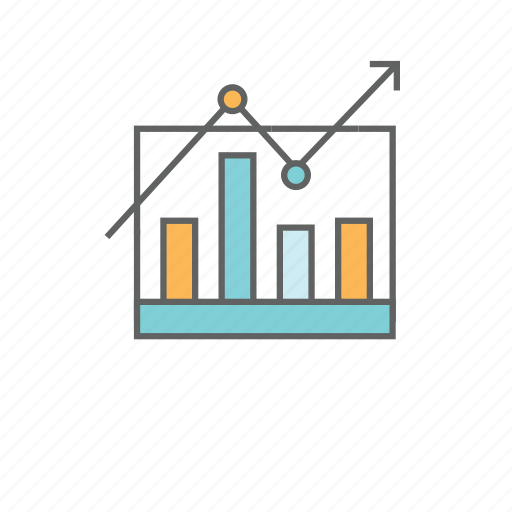 analysis, bar chart, charts, graph, pie chart, report, statistics icon
