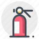 fire, firedepartment, fireman, putoutfire, situation icon