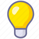 idea, innovation, light icon