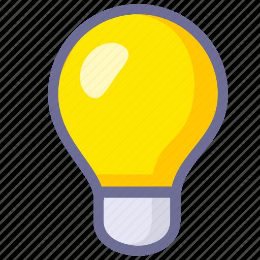 idea, innovation, light icon