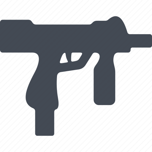 construction, fire weapon, machine, weapon icon