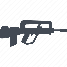 fire weapon, military, war, weapon icon