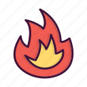 burn, burning, fighter, fire, fireman, job, service icon