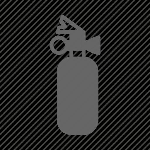 burn, extinguisher, fighter, fire, fireman, job, service icon