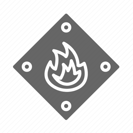 burn, fighter, fire, fireman, job, service icon