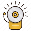 alarm, alert, danger, fire, warning icon
