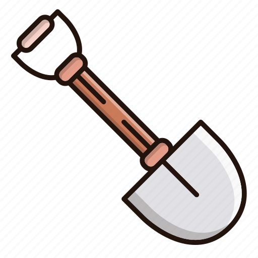 dig, equipment, gear, repair, shovel, tool, work icon