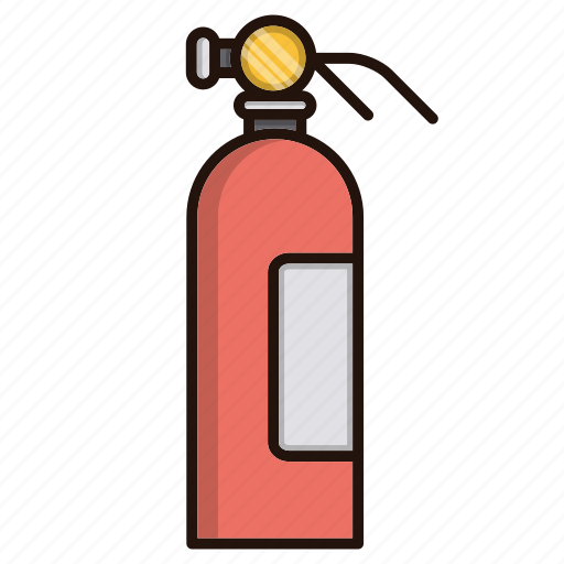 extinguisher, fire, fire fighting, fire-extinguisher icon