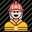 emoji, avatar, fireman