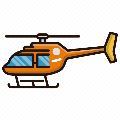 fly, helicopter, transportation icon