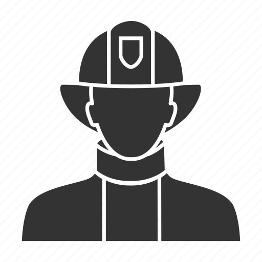 fire, firefighter, firefighting, fireman, job, occupation, profession icon