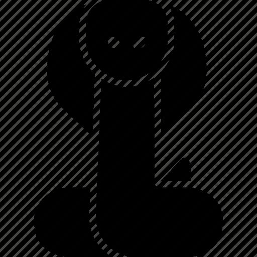 cobra, king, naja, rinkhals, snake icon