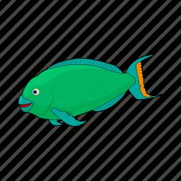animal, cartoon, fish, jaws, marine, nature, sea icon