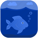 fish, fishing, ocean, sea, under, water icon