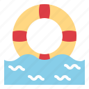 float, healthcare, life, lifesaver, saver icon