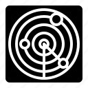 area, location, maps, radar icon