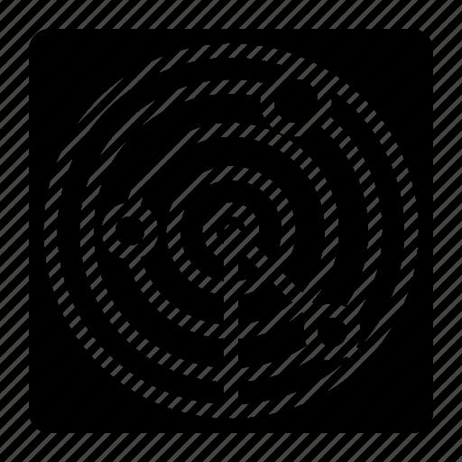 Area Location Maps Radar Icon