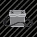 accessory, attribute, bag, box, equipment. fishing, tackle icon