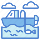 boat, fishing, transportation