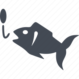 bait, fish, fishing, sea, seafood icon