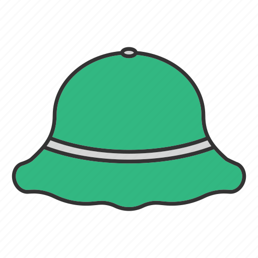 accessory, clothes, fisher, hat, headgear, headwear, protection icon