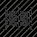 fishing, fishnet, fishtrap, gear, net, tackle, trap icon