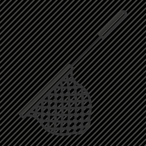 fishing, fishtrap, gear, net, scoop, tackle, trap icon