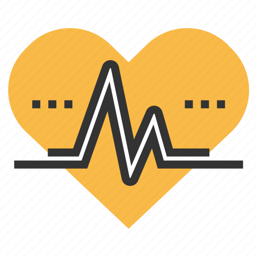heartbeat, lifeline, medical, pulse icon
