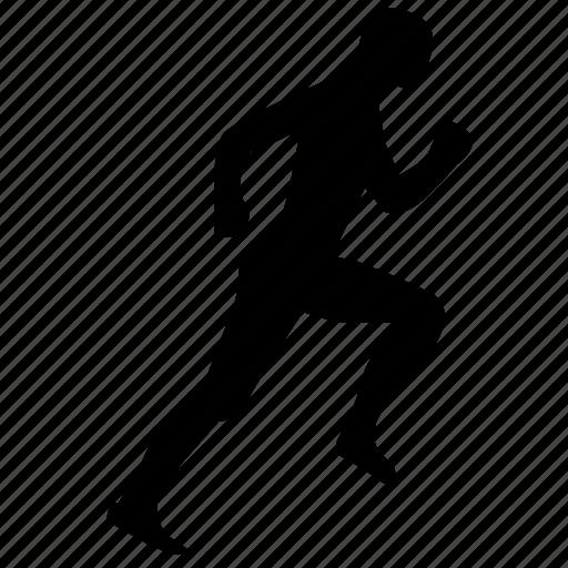 Body, Fitness, Man, Run, Trainings Icon