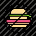 fastfood, fitness, gym, sport