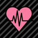 ekg, fitness, gym, heart, sport icon