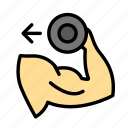 dumbells, fitness, gym, muscle, sportl, spul icon