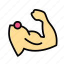 fitness, gym, muscle, sport, work1 icon