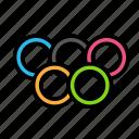 fitness, gym, olimpics, sport icon