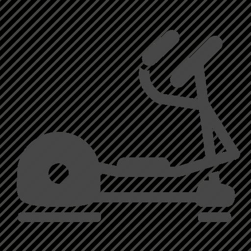 cardio, elliptical, exercise, fitness, gym, training, training equipment icon