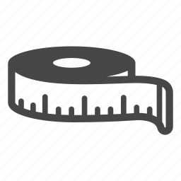 equipment, measure, measurement, measuring, measuring tape, meter, tool icon