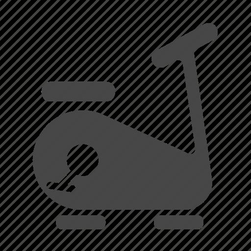 bicycle, exercise, fitness, gym, stationary bike, training equipment, upright bike icon