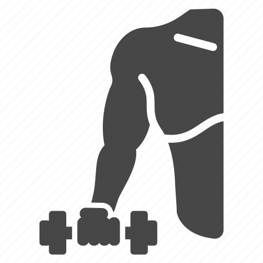 bodybuilding, dumbbell, exercise, fitness, training, weight, workout icon