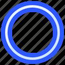 exercise, fitness, hoop, hula, training icon