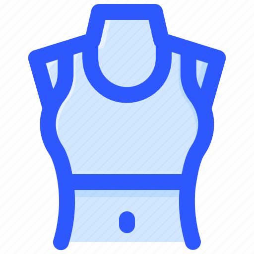 bra, breasthood, chest, female, stomach icon