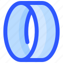 circle, exercise, gym, yoga icon